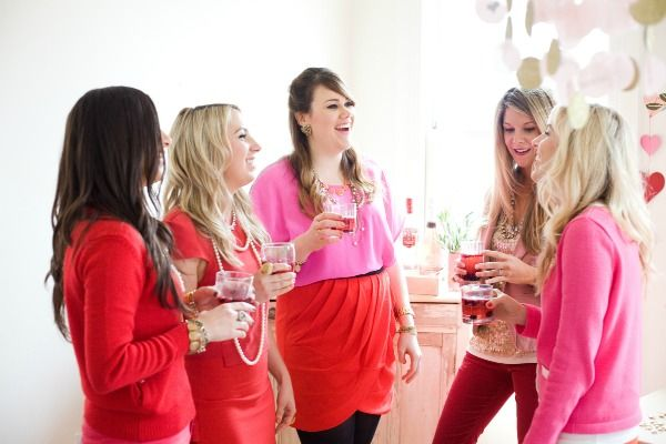 ladies gossiping valentine day