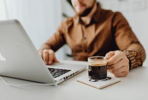 Is Coffee Keeps Entrepreneur Focused and Relaxed