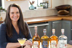 Karen Hoskin, founder/owner of Montanya Distillers