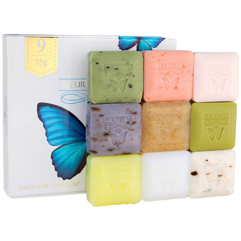 Fleur D' Extase Soap Gift Set