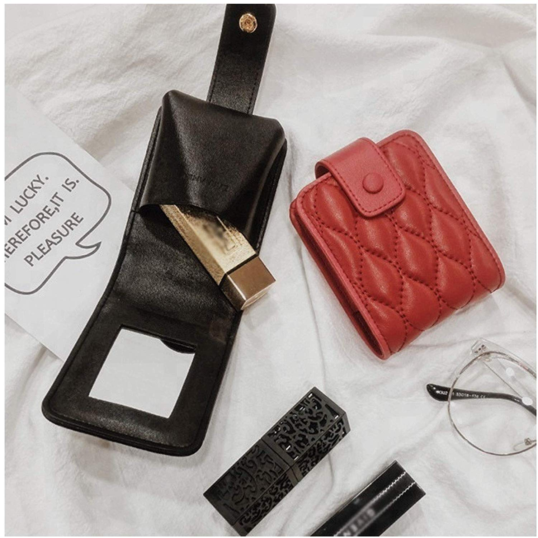 Lipstick Case with Mirror Cute Portable Makeup