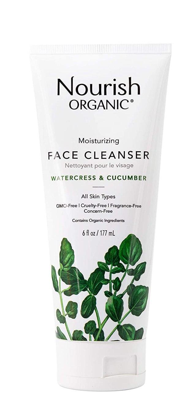 Nourish Organic Moisturizing Face Cleanser Watercress & Cucumber