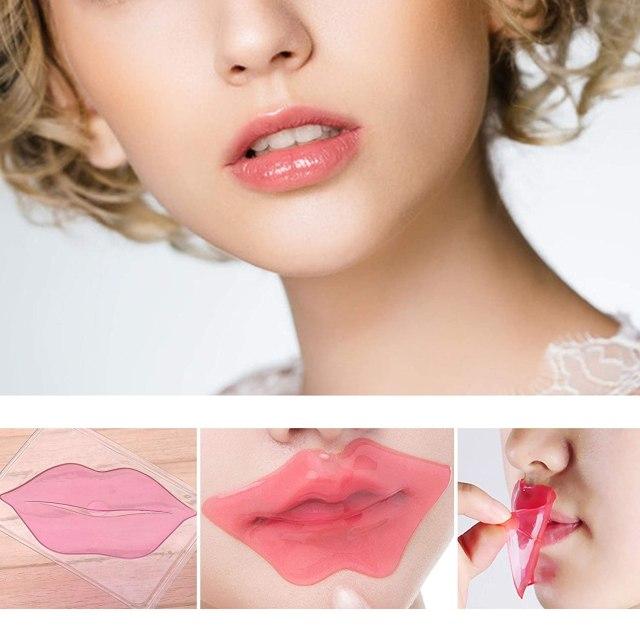FANICEA 30 Pack Pink Collagen Crystal Lip Masks