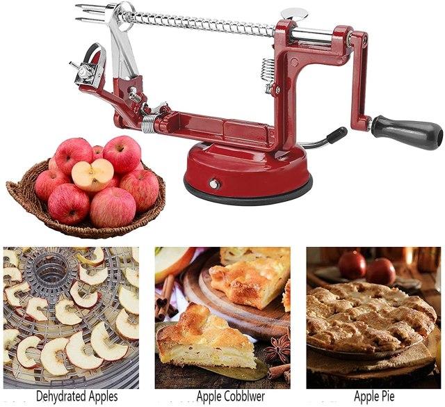 Stainless Steel Apple Peeler Corer and Slicer