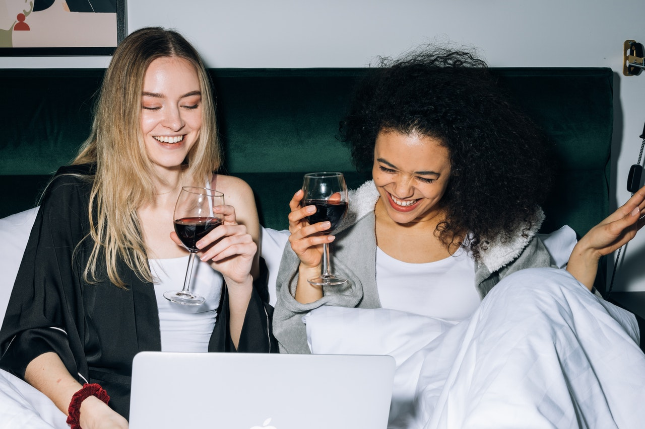 Turn Your Girls' Night Out into a Pajama Party