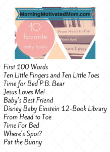 10 Favorite Baby Books