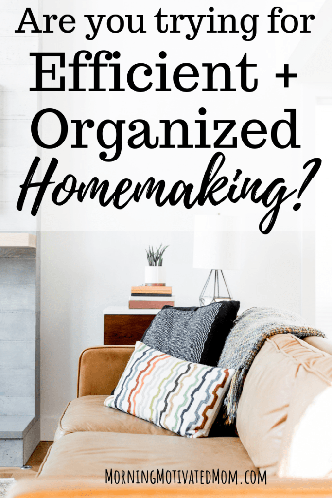 Productivity. Is this key? Or should this be banished from my goals during this phase of life with two little ones? Should I worry about being productive focusing on life with little ones? I share a bit about how I balance productivity with efficiency. Finding Efficiencies and Organization in Homemaking