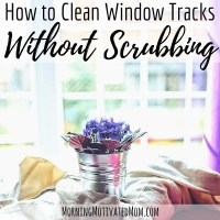 How to Clean Window Tracks Without Scrubbing