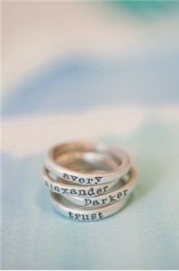 Lisa Leonard stacking rings