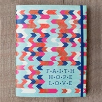 Faith, Hope & Love - Inspirational Journal