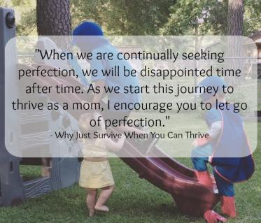 Why Just Survive When You Can Thrive. Your summer with children.