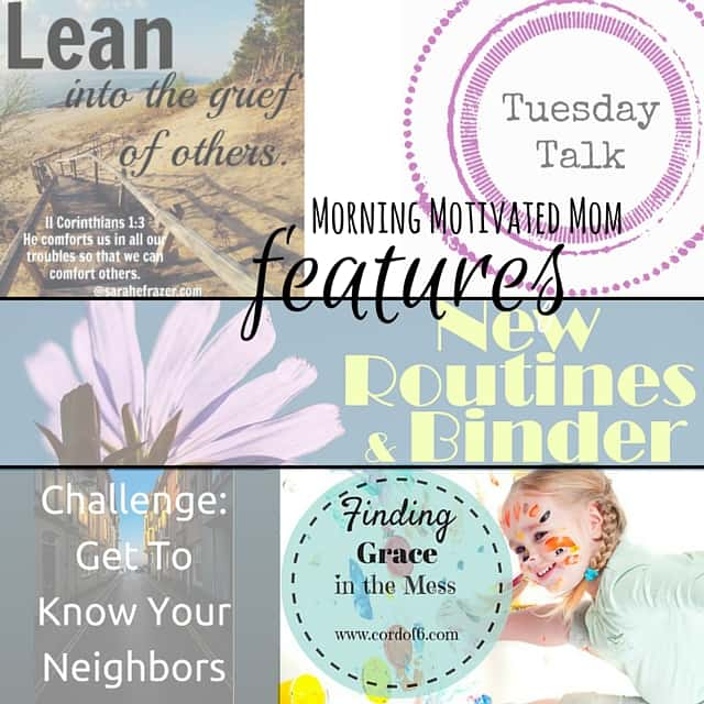 Tuesday Talk Linkup with Featured Posts