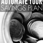 Automate Your Savings Plan