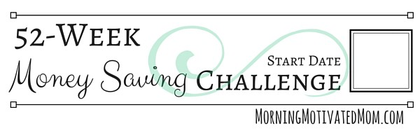 image regarding 52 Week Money Saving Challenge Printable named Financial Conserving Trouble Printables Early morning Impressed Mother