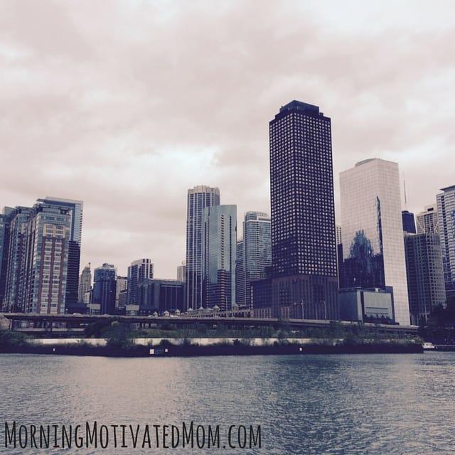 Chicago Skyline. October Goalsetting.