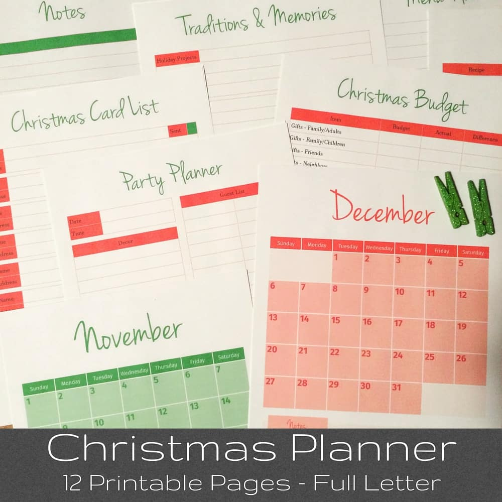 Tuesday Talk & Christmas Planner – Morning Motivated Mom