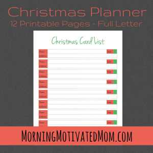 Get Organized this Christmas with the Christmas Planner