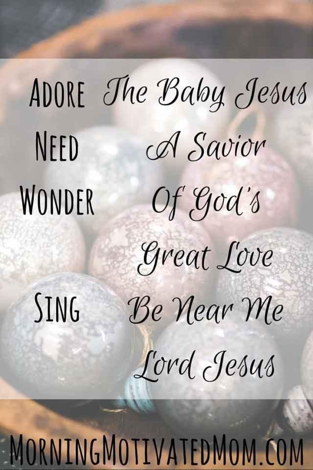 Merry Christmas...Adore, Need, Wonder, Sing