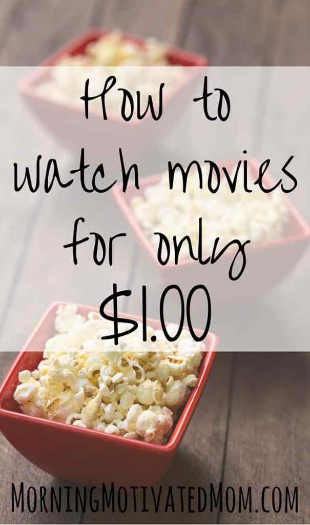 How to watch movies for only a dollar with VidAngel. I think we are done with RedBox. We have watched our last 5 movies with VidAngel. They are just $1 and we don't have to leave our home to pick up the movie.