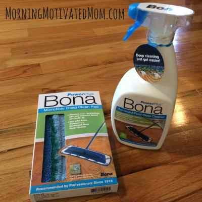 How to clean your hardwood floors with the Bona PowerPlus system