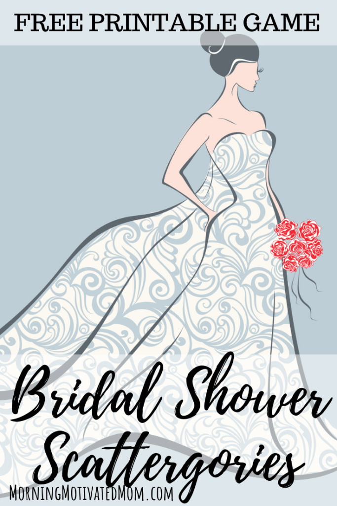 Are you planning a bridal shower? Here is a game that everyone will enjoy playing! Bridal Shower Game and Free Scattergories Printable