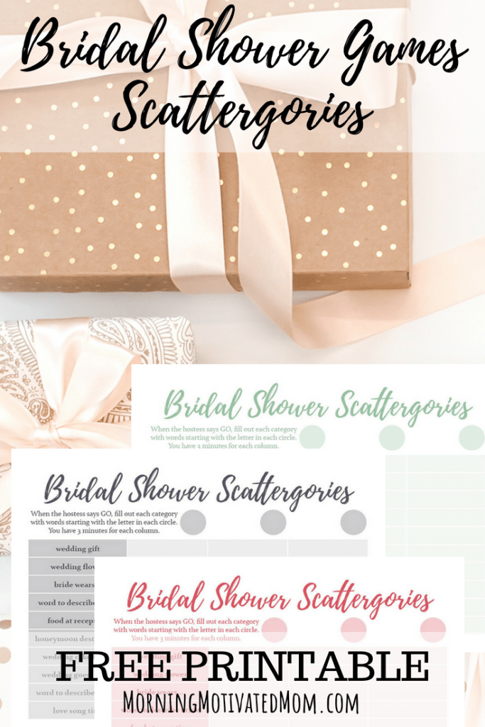 what is your favorite bridal shower game to play