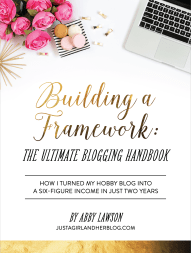 Building a Framework. Ultimate Homemaking Bundle.