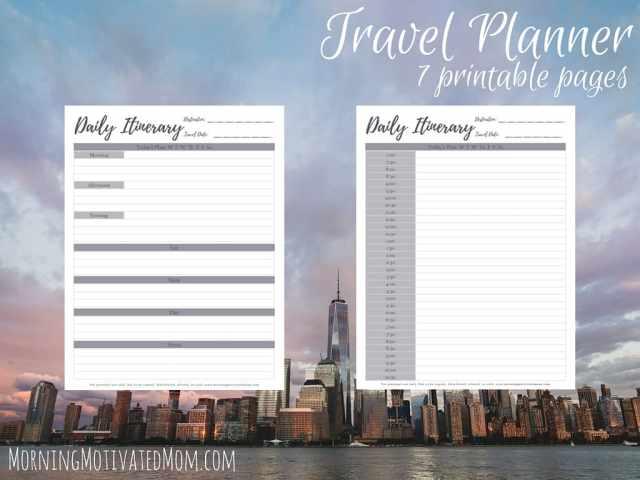 Travel Planner Printables (6)