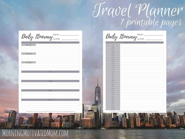 Travel Planner Printables (6)