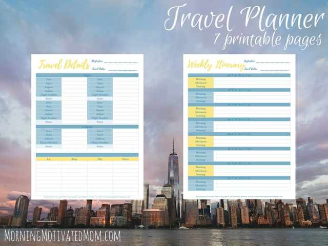Travel Planner Printables (7)