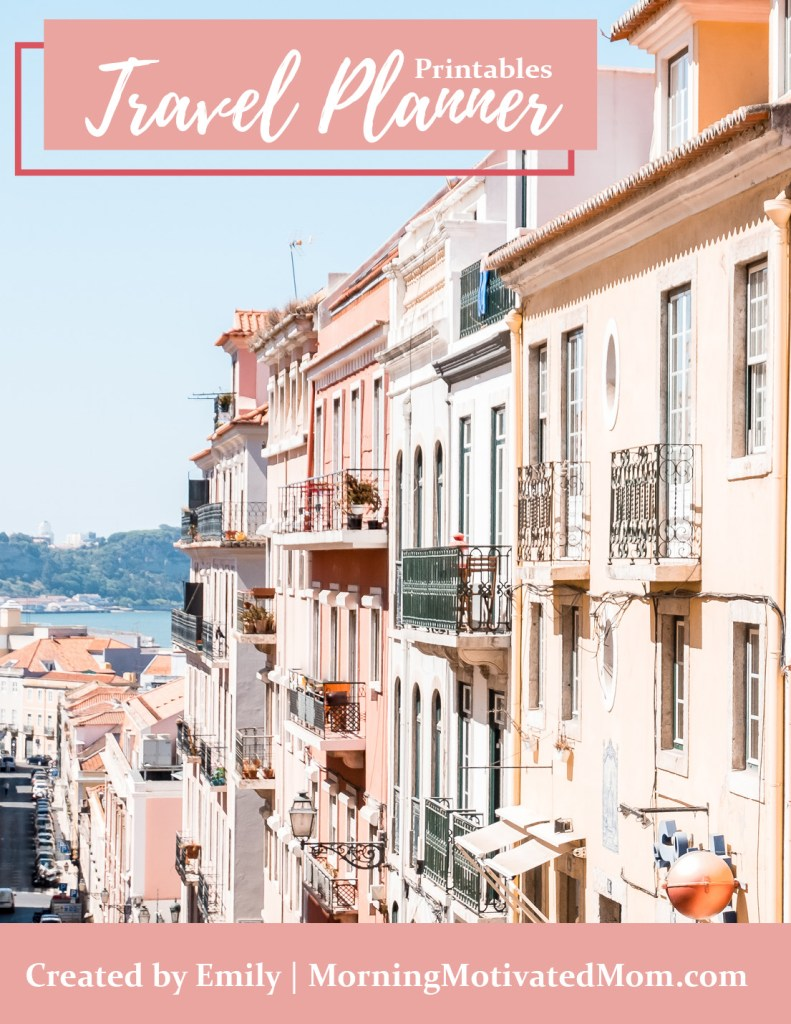 Travel Planner Printables. Organize your next vacation or trip with this Travel Planner. Includes printables for: Travel Details, Weekly Itinerary, Daily Itinerary, Packing List, Daily Journal, Travel Budget.