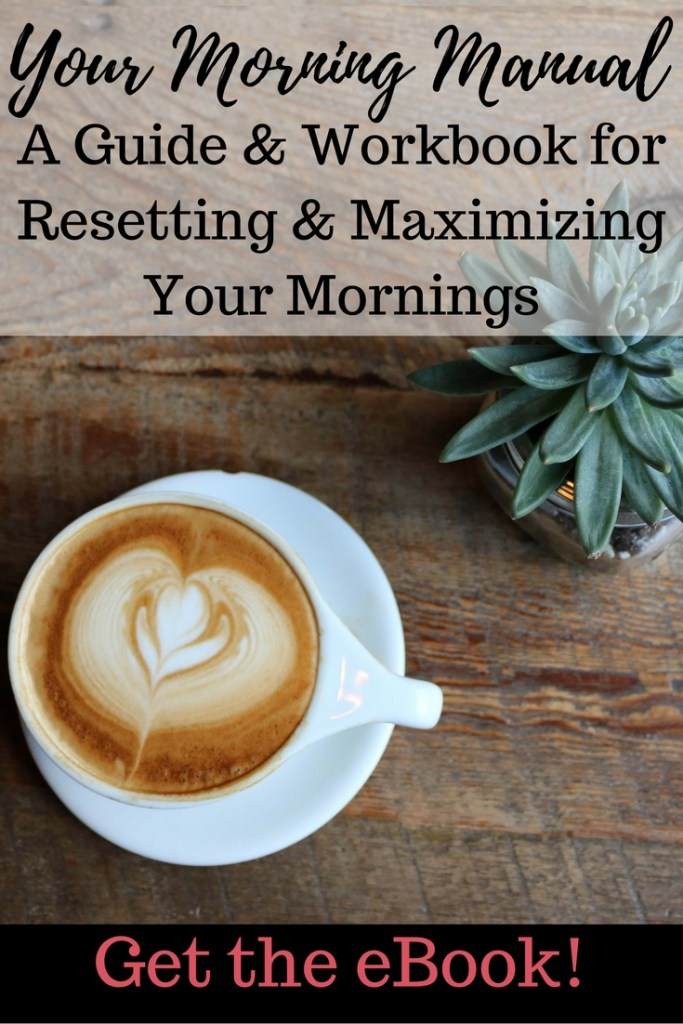 Your Morning Manual - Visualize your ideal morning. Decide your morning priorities. Plan your morning routine. Create a morning schedule. Make the most of your evening time. Decide on an accountability plan. Motivate you to use your mornings best to achieve the entire that is your ultimate goal! This eBook will help you walk through the process of developing a new morning routine. It includes worksheets to help you organize and plan along the way!