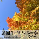 Monthly Goals – October