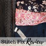 My Stitch Fix Review