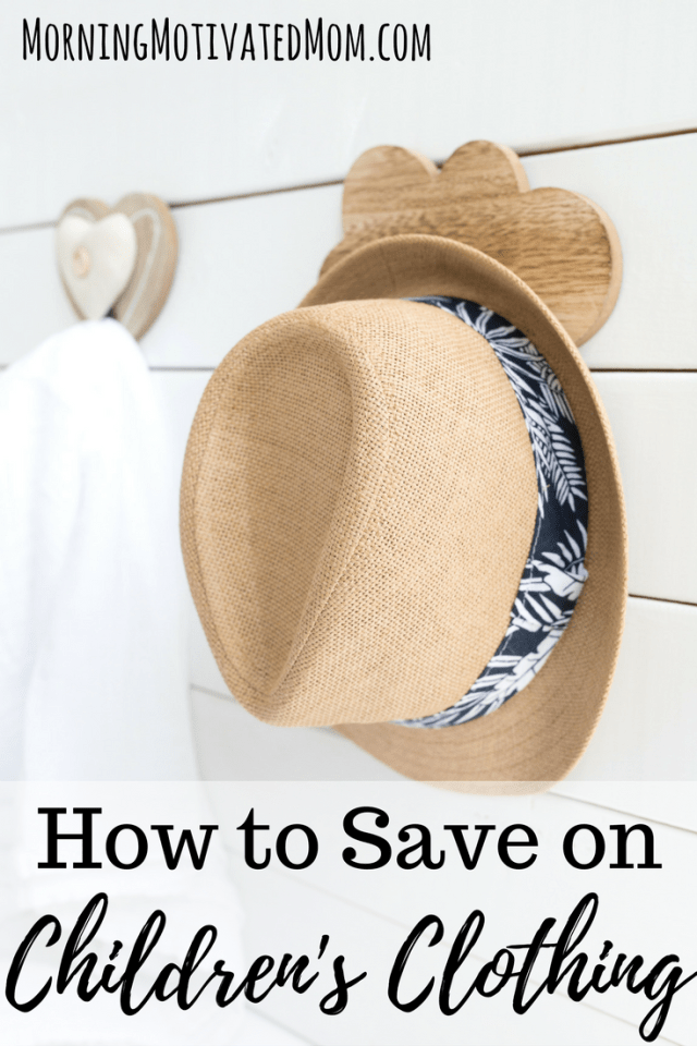 How to save on children's clothing.