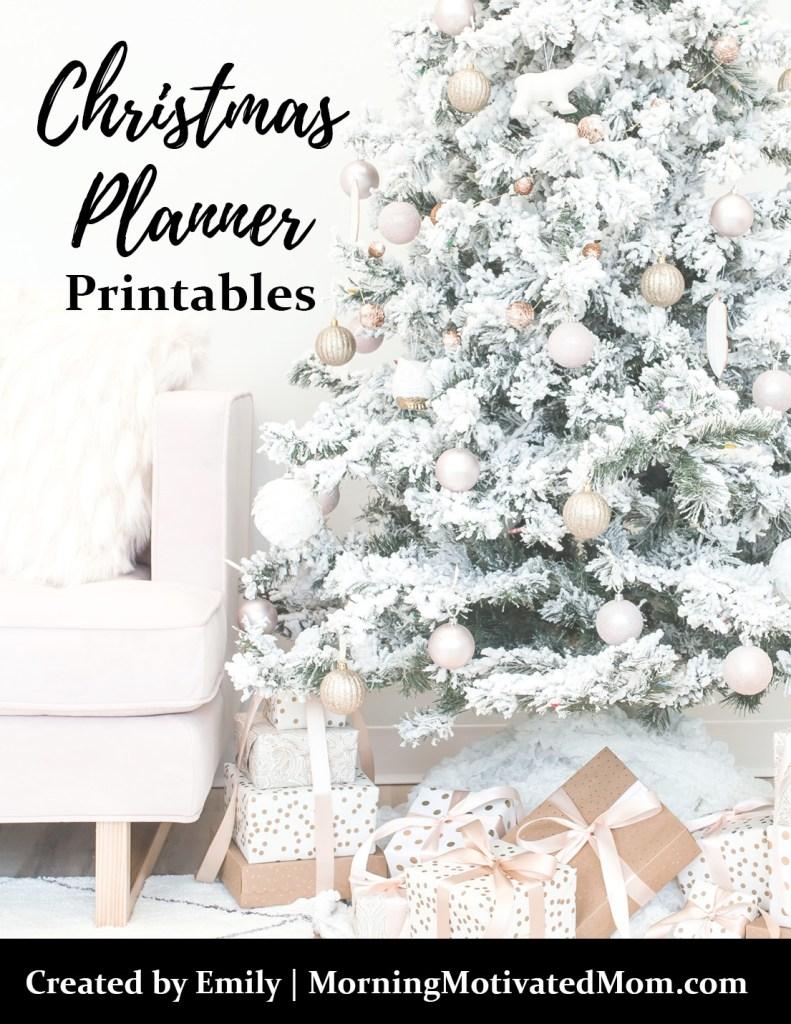 Christmas Planner – Morning Motivated Mom