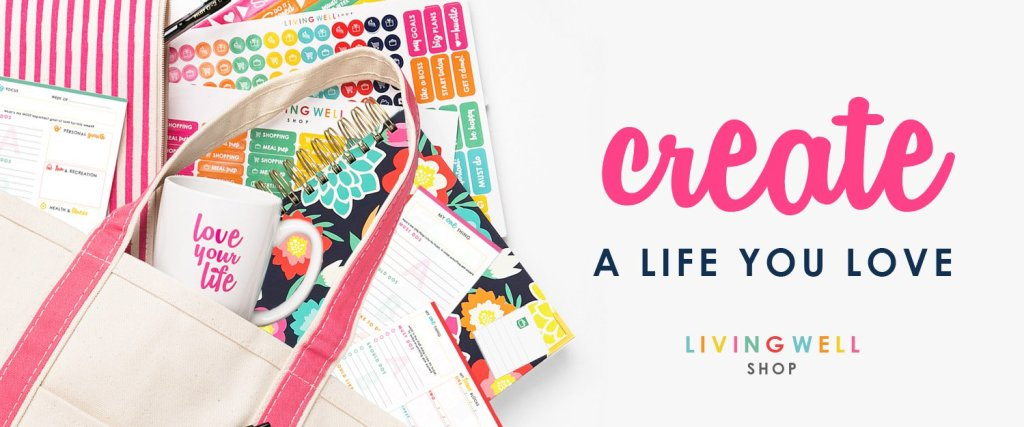 Stay Organized and hit your goals with the Crush It Collection and Living Well Planner.