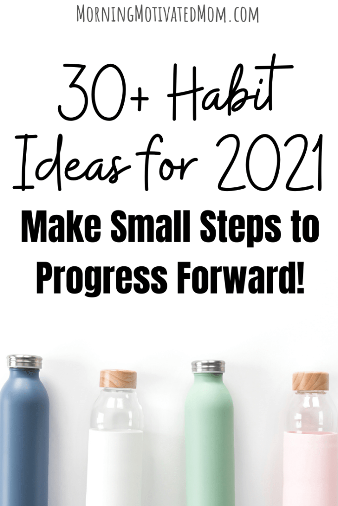 Do you have a new habit that you want to create? One little task or activity that you want to focus on this year? Do you need help deciding on your habits? Here is a list of daily habits to get you thinking. Think of habits that will push you towards your bigger goals. Or think of habits that will keep the most important aspects of your life a priority. Habit Tracking List. 2021 Goals #habits #goalsetting