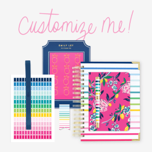 Emily Ley Planner Bundles. Check out the gorgeous patterns!