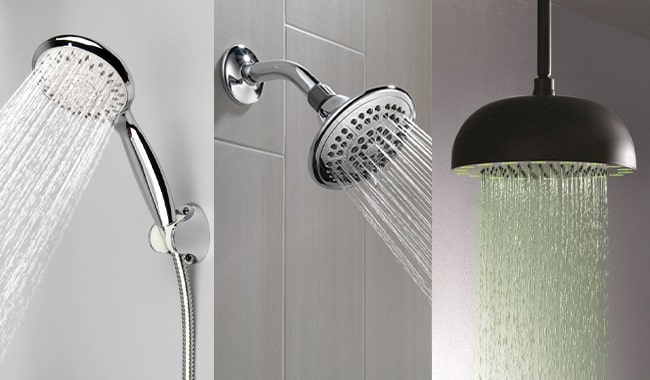 Different-Types-of-Shower-Heads