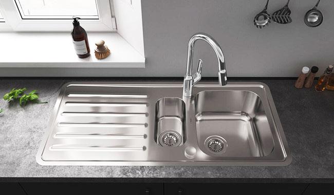 standard kitchen sink sizes explained