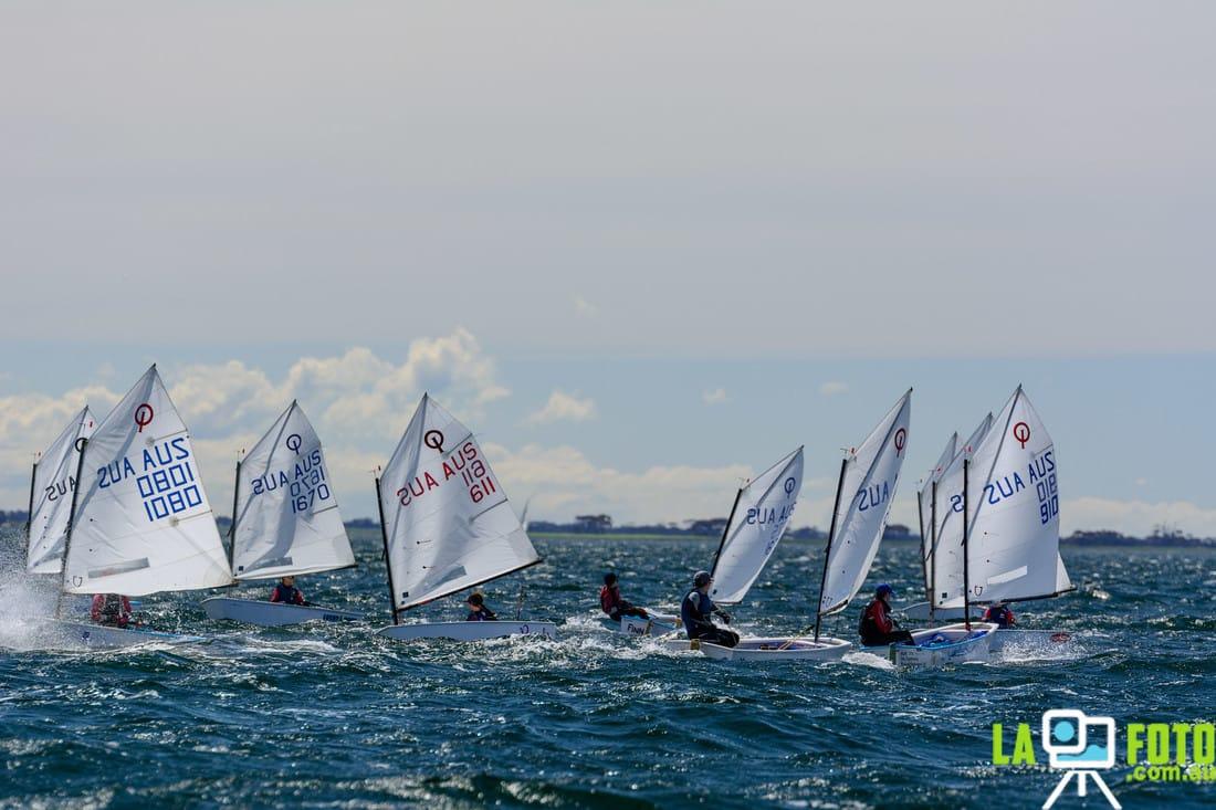 2017 Australian Optimist Championships 2 9 Jan At Largs Bay SC SA Mornington Yacht Club