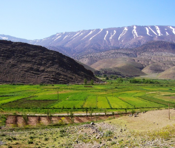 Ait Bougummez valley