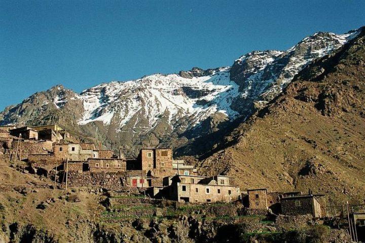Imlil Toubkal mountain