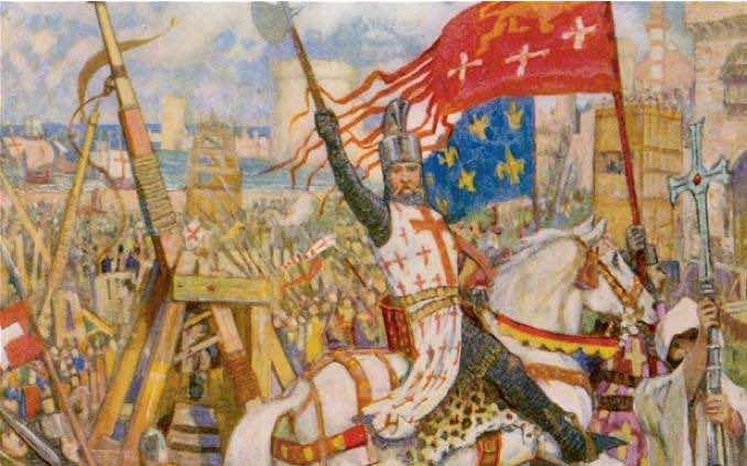 Gemälde der Kreuzzüge