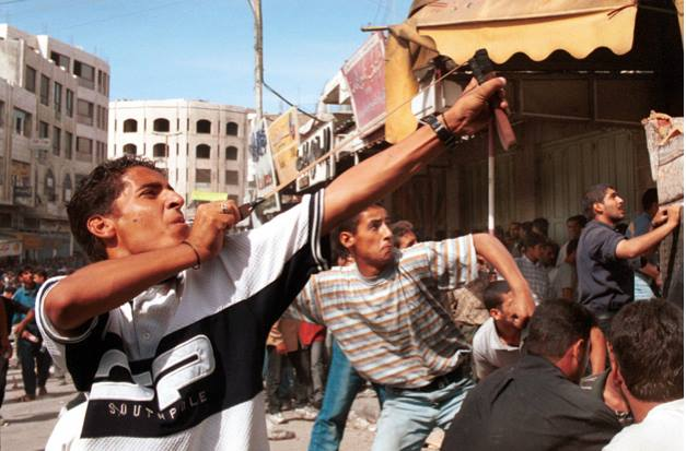 Palästinensische Intifada 2000