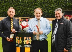 Morpeth receive club and manager of the month awards