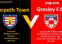 Match Preview | Morpeth Town v Gresley