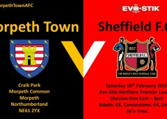 Match Preview   Morpeth Town v Sheffield F.C.