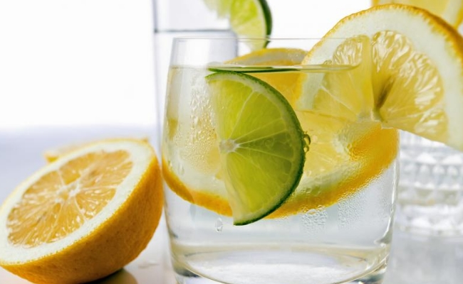 Treatment with lime